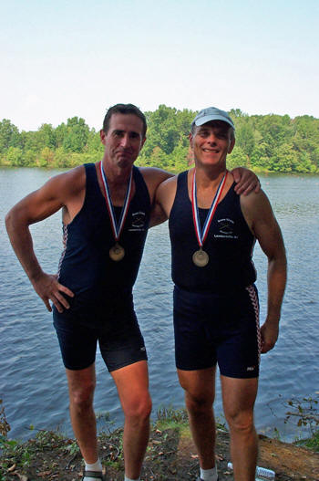 Duke And Ted Win Gold In The Pair FISA World Rowing Masters Regatta 2006